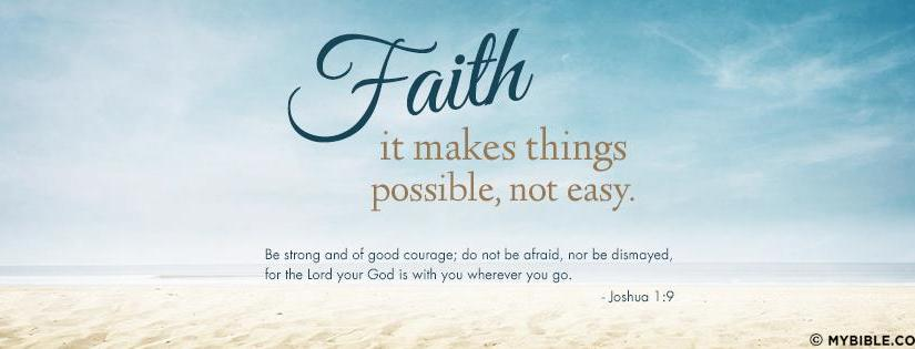 Do you confidence that what we hope for will actually happen? Do you have assurance of things you cannotsee?