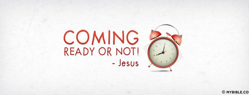 Will you be ready when the time comes?