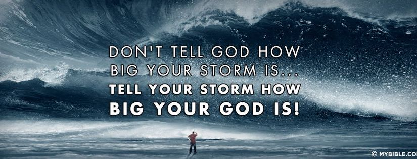 Nothing is too big forGod!