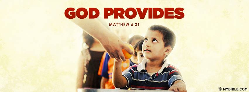 Do you appreciate what you have? Do you realize how much God canprovide?