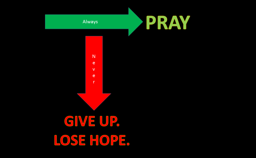 Always vs. Never…