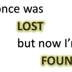 Lose something? How hard did you look to find it?