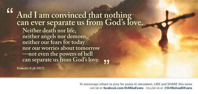 Nothing can separate us from the love of God!