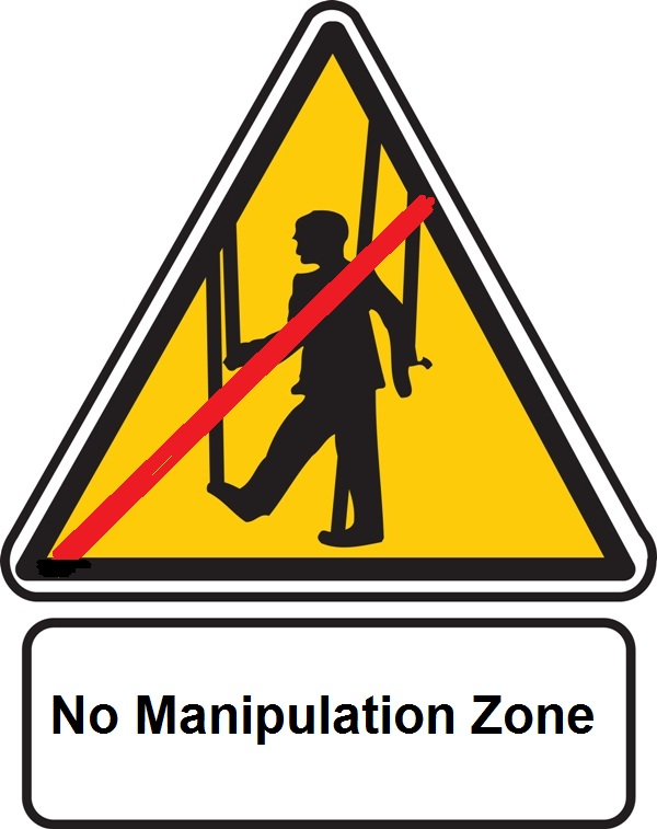 No manipulation zone