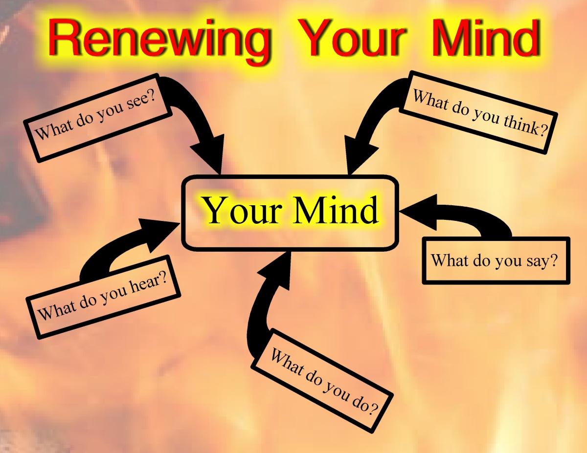 Don't conform rather renew your mind.