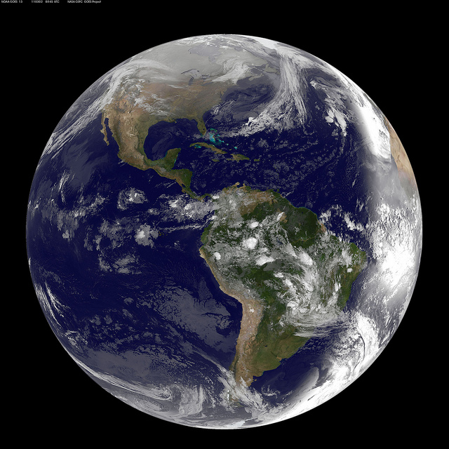The Earth and everything in it