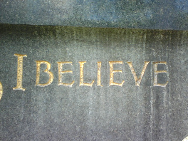Believe! What can get in the way of the truth?