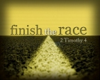 How will you finish the race?