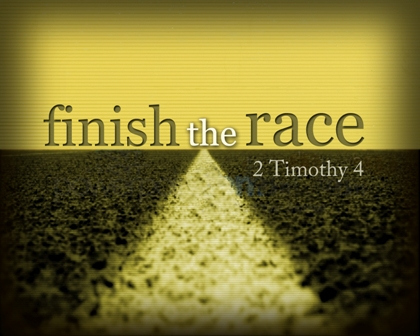 Are you keeping your eyes on the prize? on the goal? on the finish line?