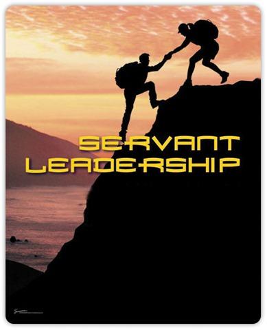 Servant leadership…