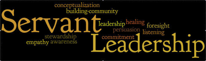 Leadership…to serve, to lead, to care for, to protect…