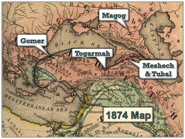 Where are Gog and Magog?