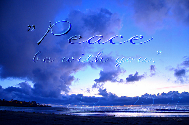 Consider what you are going through…Are you feeling peace?