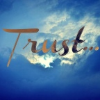 When you put your trust in the right thing, it makes a difference!