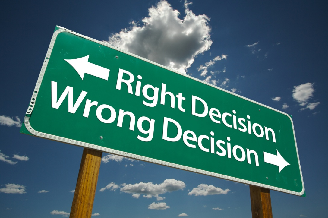 We all get to decide for ourselves. So choose wisely!