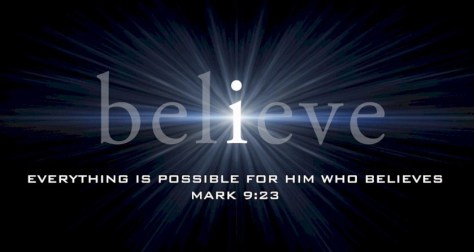 How much do you believe? What would it take to make you a believer?