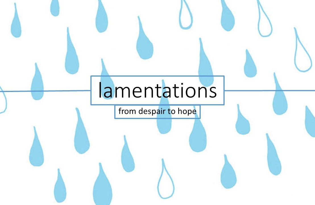 Ever wondered what lamentationmeans?