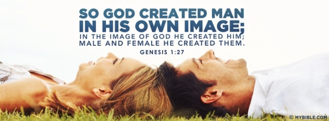 God created us in His own image