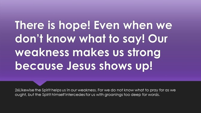 Don't lose hope when things get rough! Don't lose hope when you are pursuing God's will and God's plan for your life!
