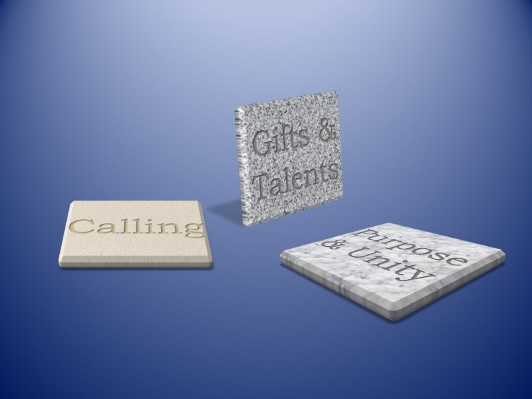 Calling - Gifts - Talents - Purpose - Unity