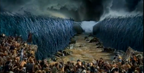 God moves the immovable object - God parts the red sea.png