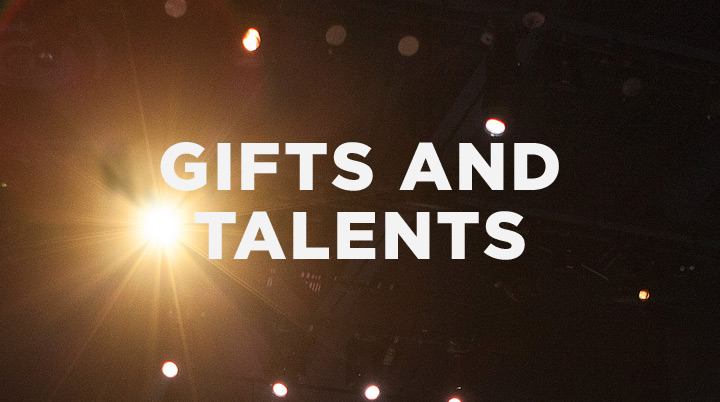 How will you use the gifts and talents you've been given?
