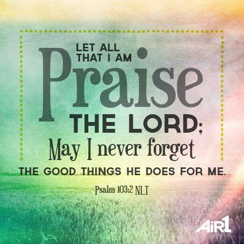 Let's praise Him!