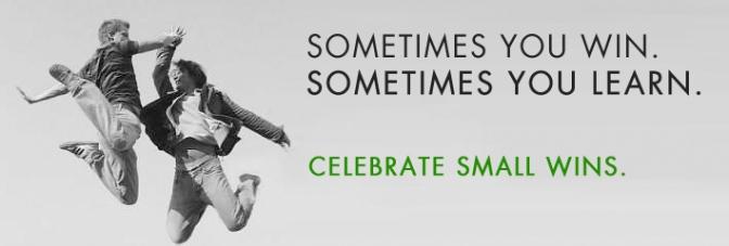 Do you take time to celebrate the good?