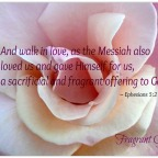 Living Sacrifice – Fragrant Offering