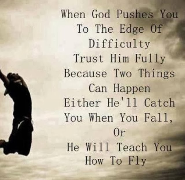 Trust God fully