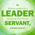 Do you realize the impact of the leader?