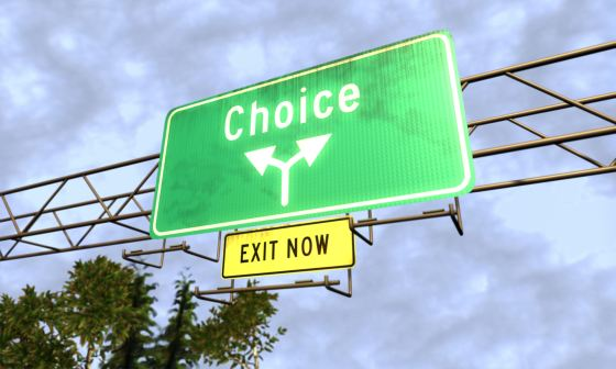 We all get to choose - Choose wisely