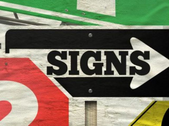 What type of sign are you looking for