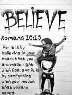 What are you going to believe?