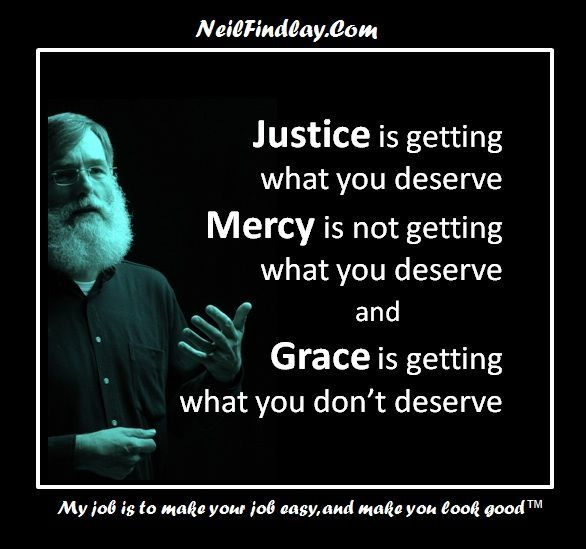 Not about rituals and routines, it's about doing it right! Justice andMercy!