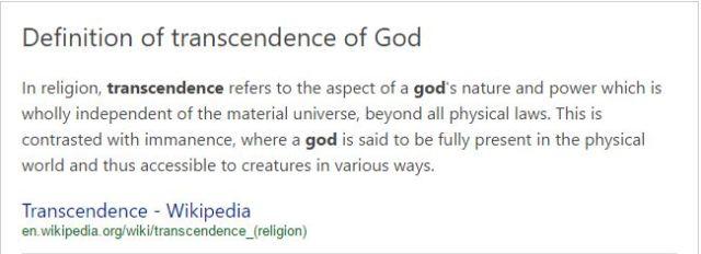 transcendence-of-god