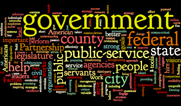 Government…Do you know what they arefor?
