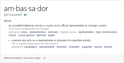 ambassador defined