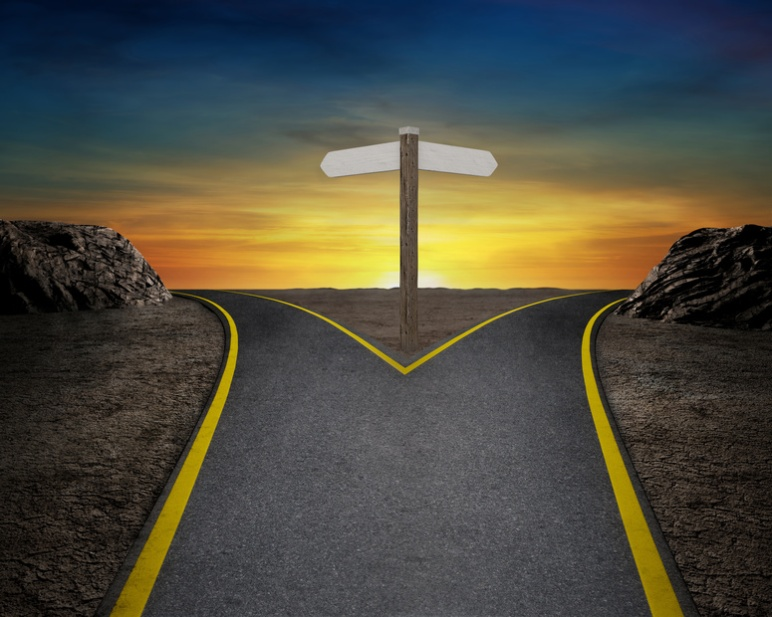 Which way will you decide to go?