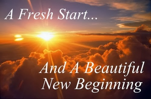 What do you do with new beginnings?