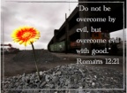 Facing evil and looking for a way to handle it?