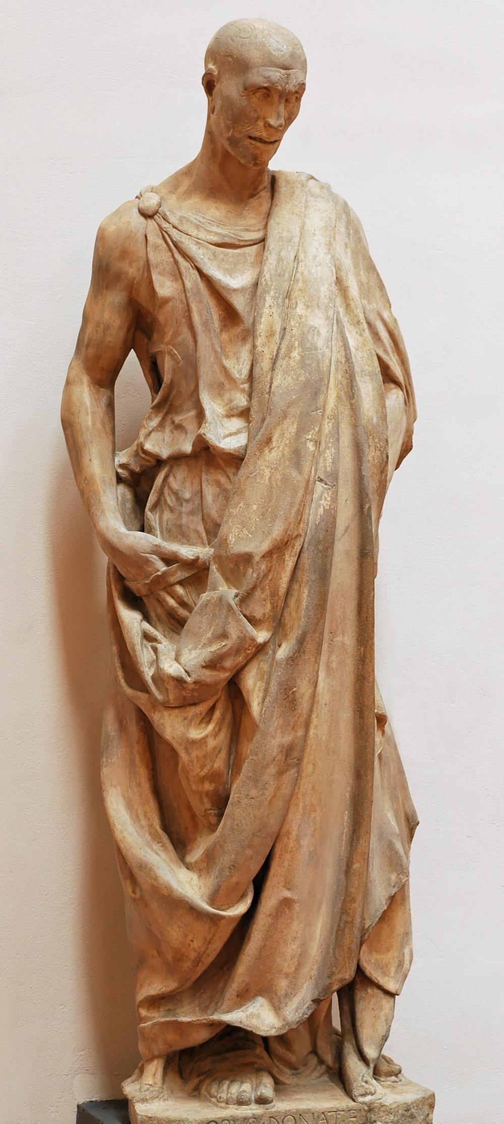 Jan 19 - Habakkuk 2 - ARTS - Zuccone_Donatello_OPA_Florence