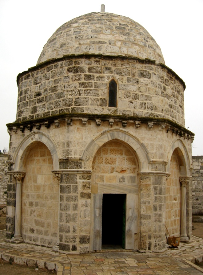 Jan 23 - Luke 24_50-53 - The Chapel of the Ascension - Mount of Olives
