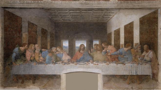 Jan 25th - John 13_21-30 - The Last Supper by Leonardo Da Vinci