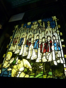 Jan 29 - Revalation 2 - York Minster Cathedral - Stained Glass - The Seven Churches - The Great East Window