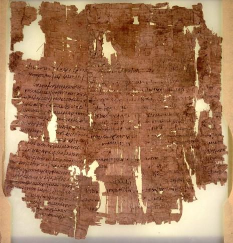 Feb 1 - Genesis 40 - Joseph interprets dreams - Papyrus Papers recording back to 1-6 centuries AD - 3