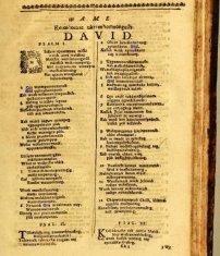 Feb 13 - Psalm 58 - John Eliot - Indian Bible 1663 - Algonquin indians - Psalms
