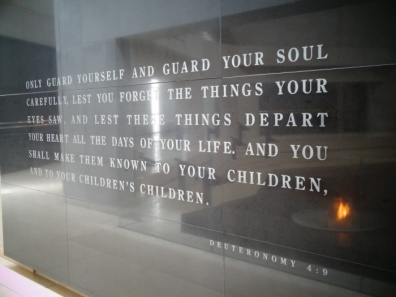 Feb 2 - Deuteronomy 4_9 - Lest you forget - United States Holocaust Memorial Museum - 4