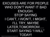 Don't be fooled! Persevere! Endure till theend!