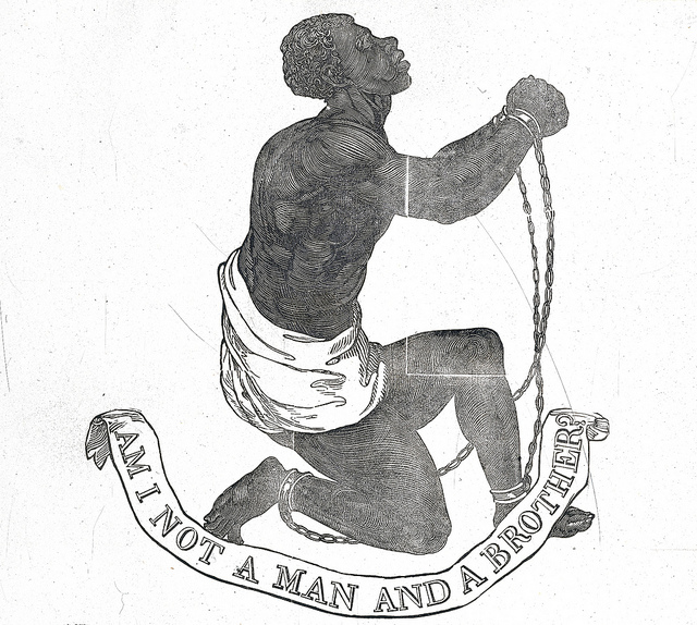 Mar 28 - Philemon 16 - Am I not a man and a brother - symbol of the abolitionist cause to end slavery